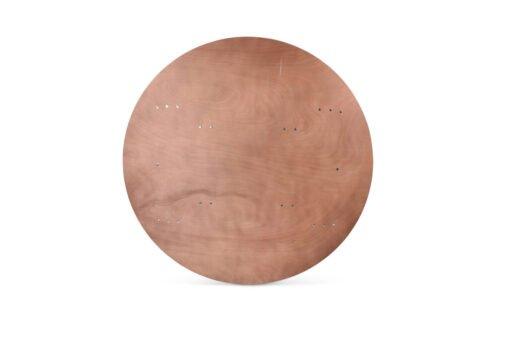 Ref. 241198 Drente Bankettafel 153cm Rond Voorzijde
