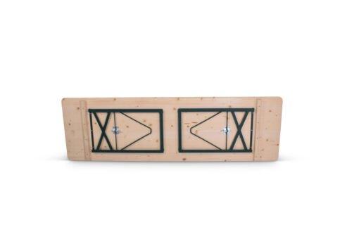 Ref. 8416 Biertafel Premium 220x70cm Achterzijde
