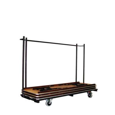 trolley rectangular tables,