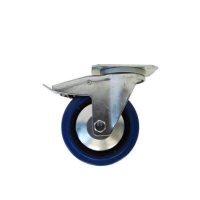 swivel castor with brake,