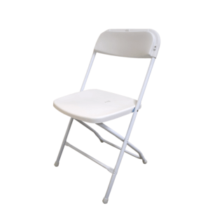 New Product - Folding Chair Cannes white